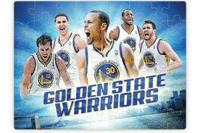Golden State Warriors Puzzle and Poster