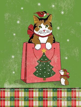 Picture of Cats in Gift Bag