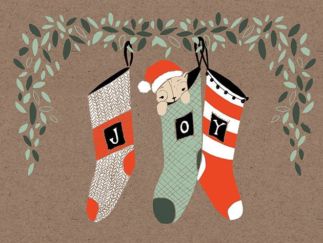 Picture of Joyful Stockings