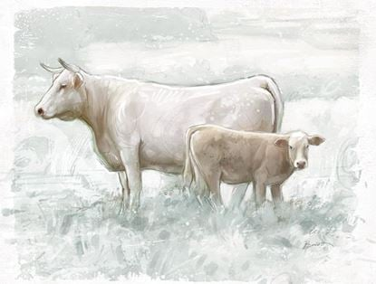 Picture of Painted Cow and Calf
